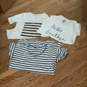J. Crew bundle of tees